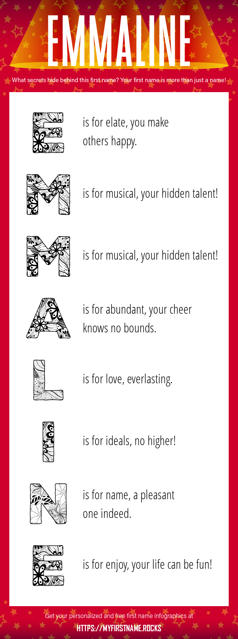 Emmaline Infographics