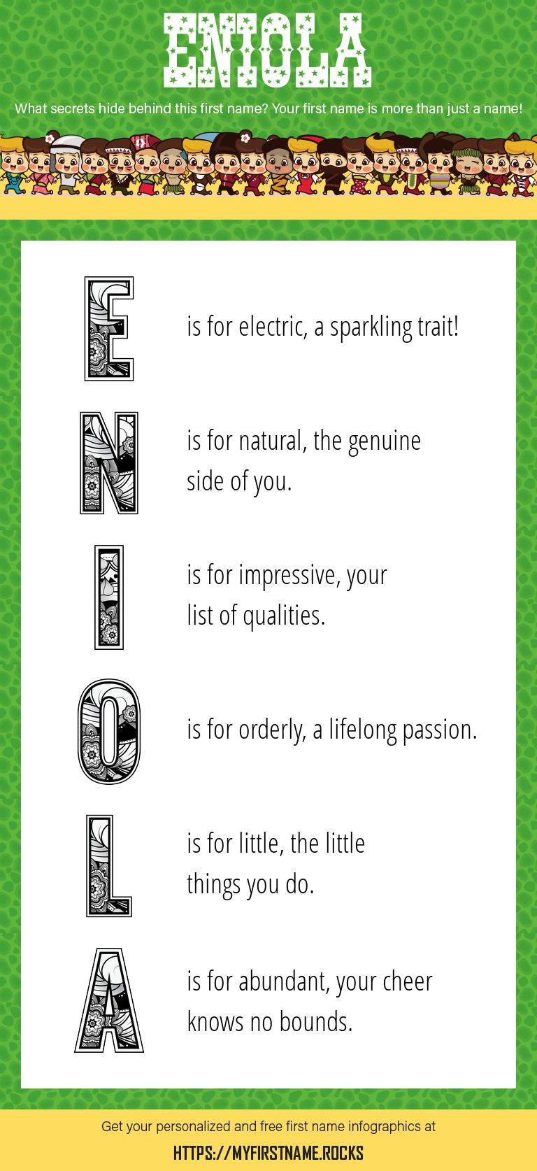 Eniola Infographics