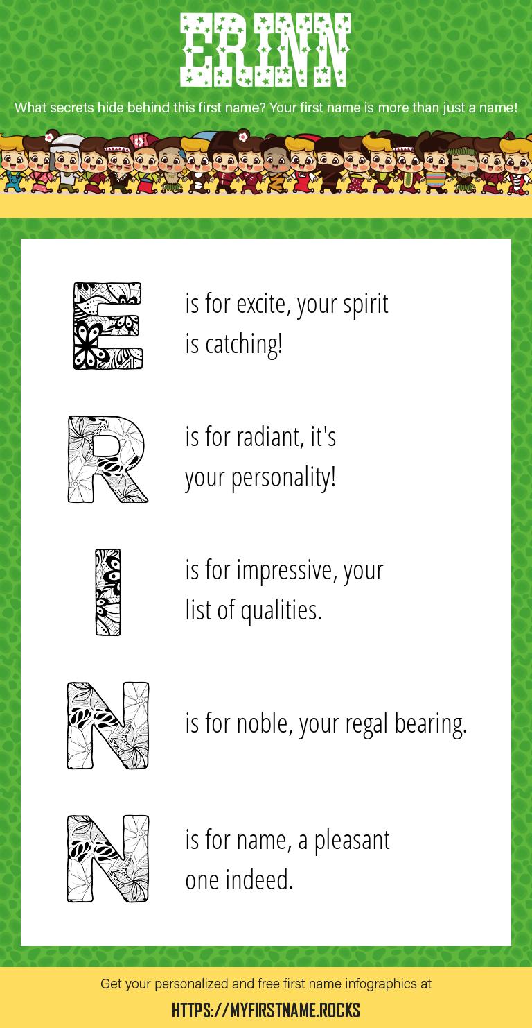 Erinn Infographics