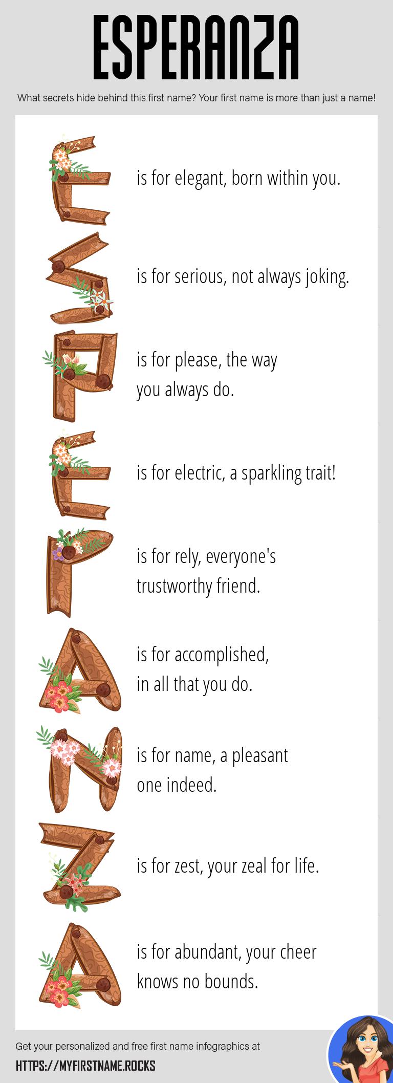Esperanza Infographics
