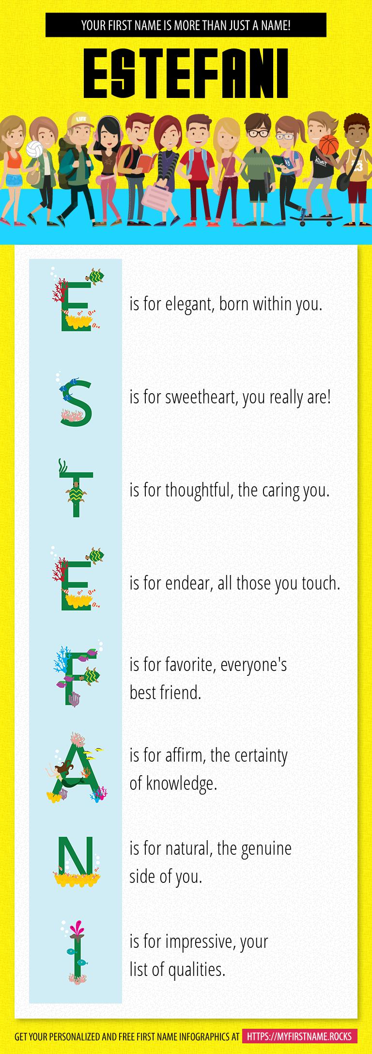Estefani Infographics