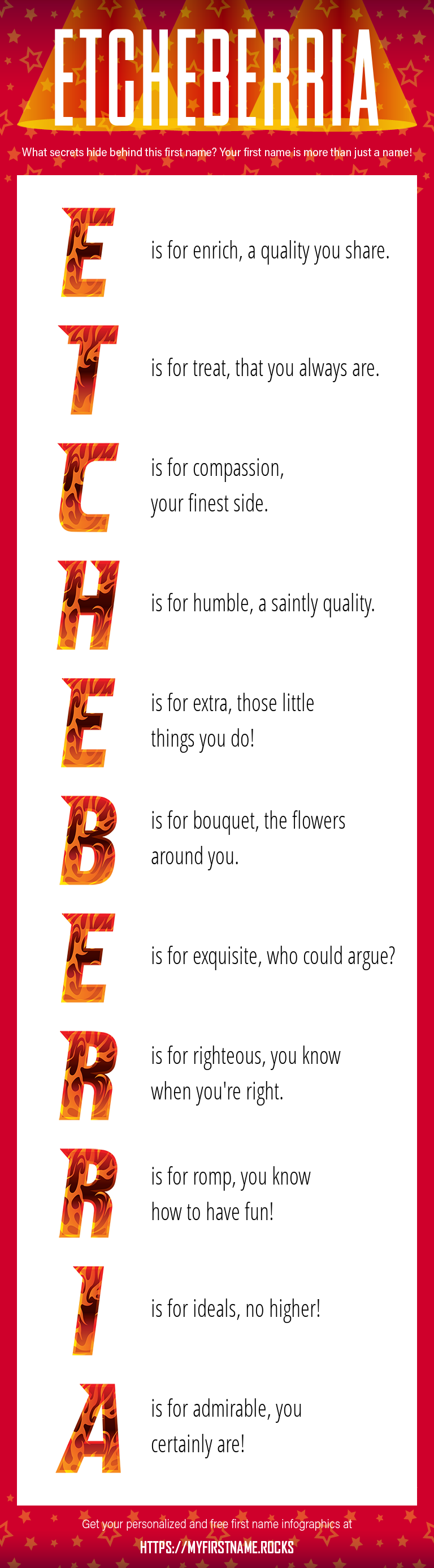 Etcheberria Infographics