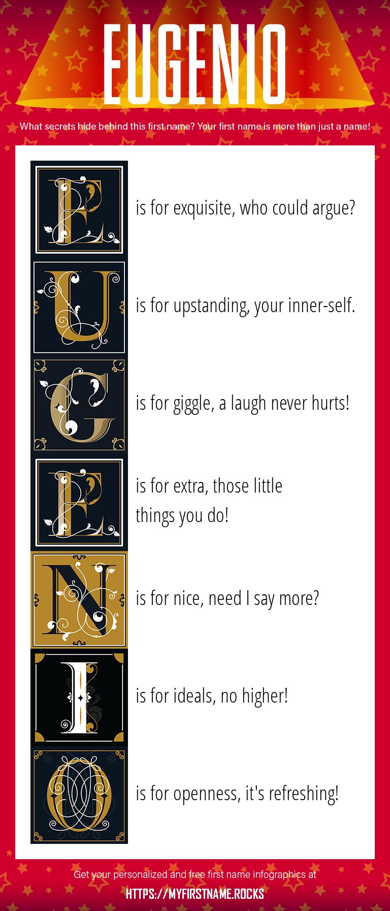 Eugenio Infographics