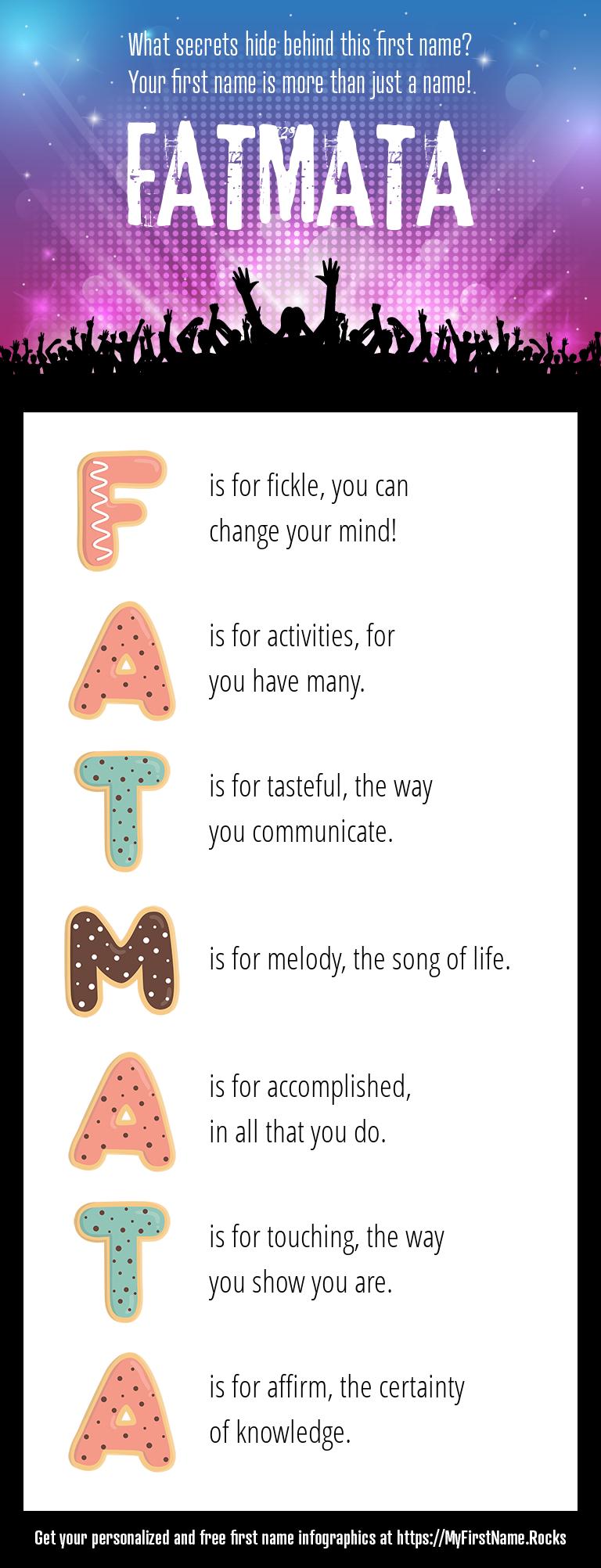 Fatmata Infographics