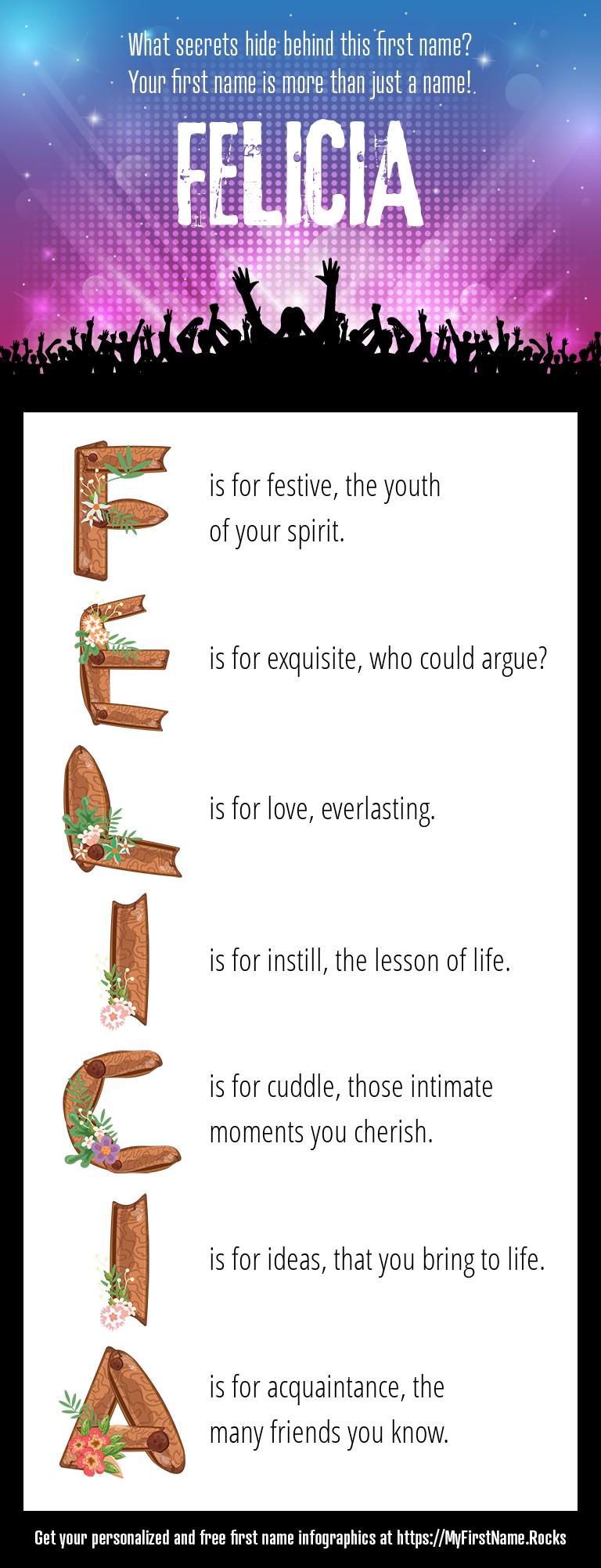 Felicia Infographics