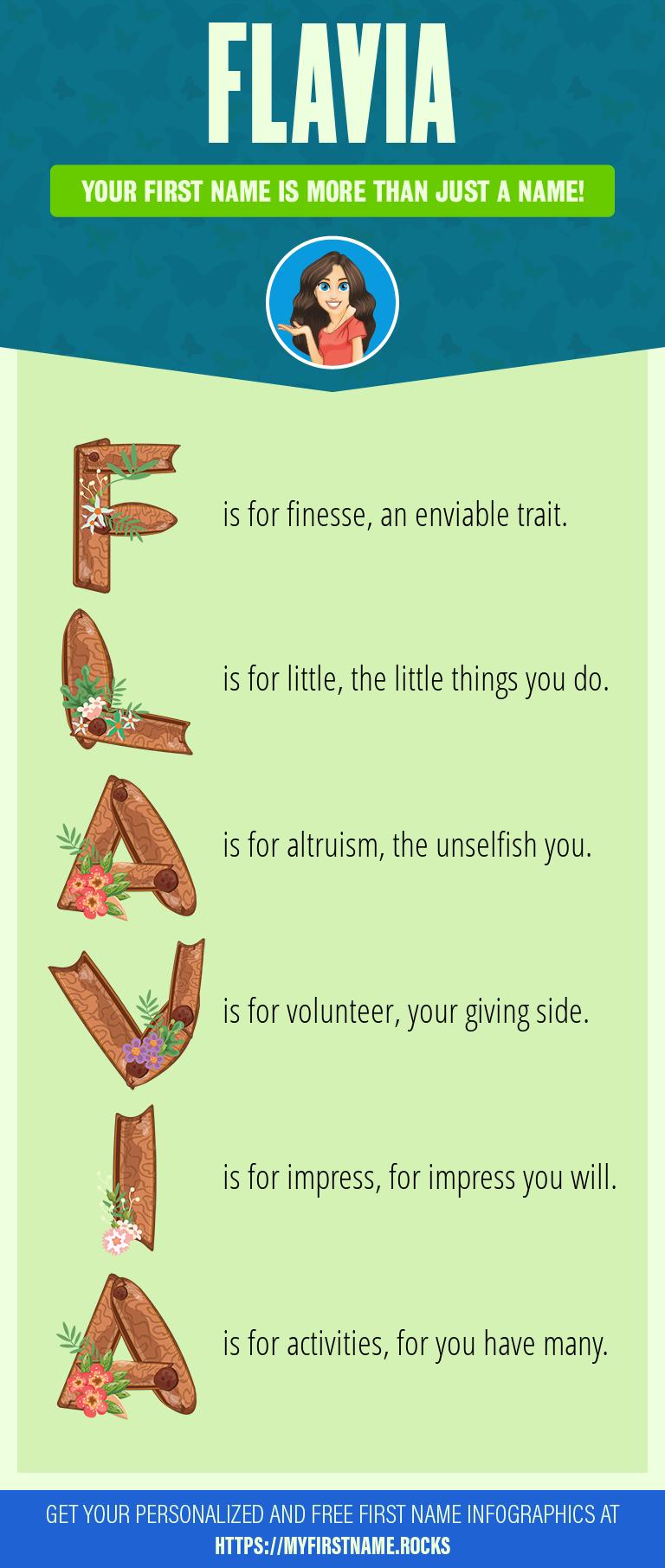 Flavia Infographics
