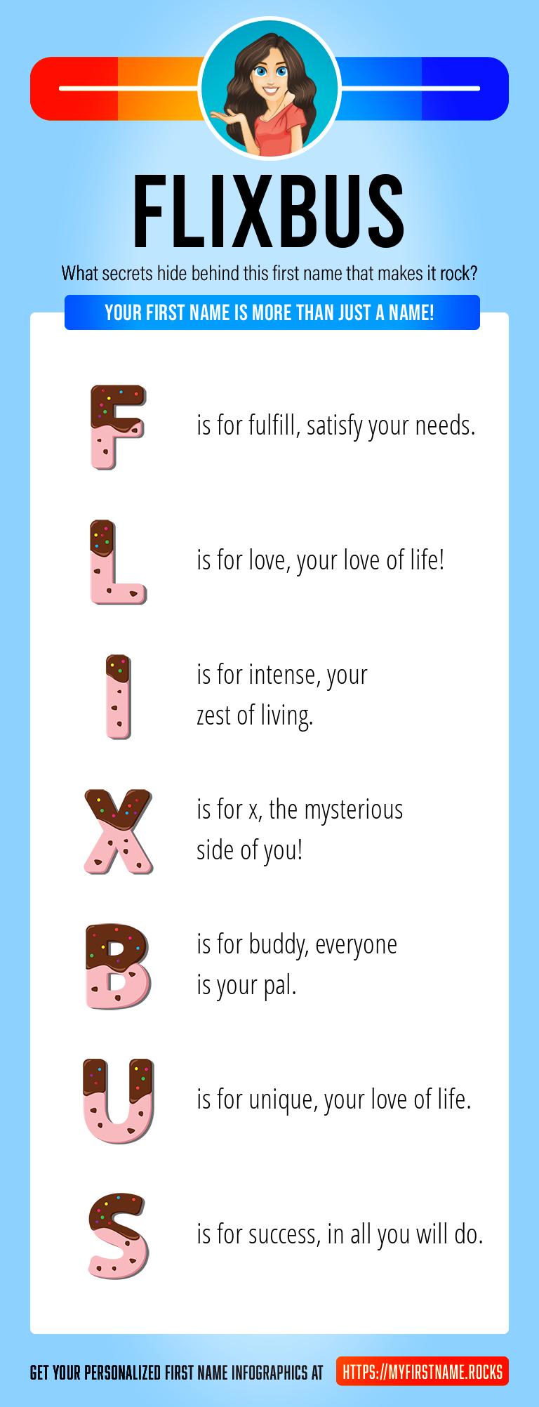 Flixbus Infographics