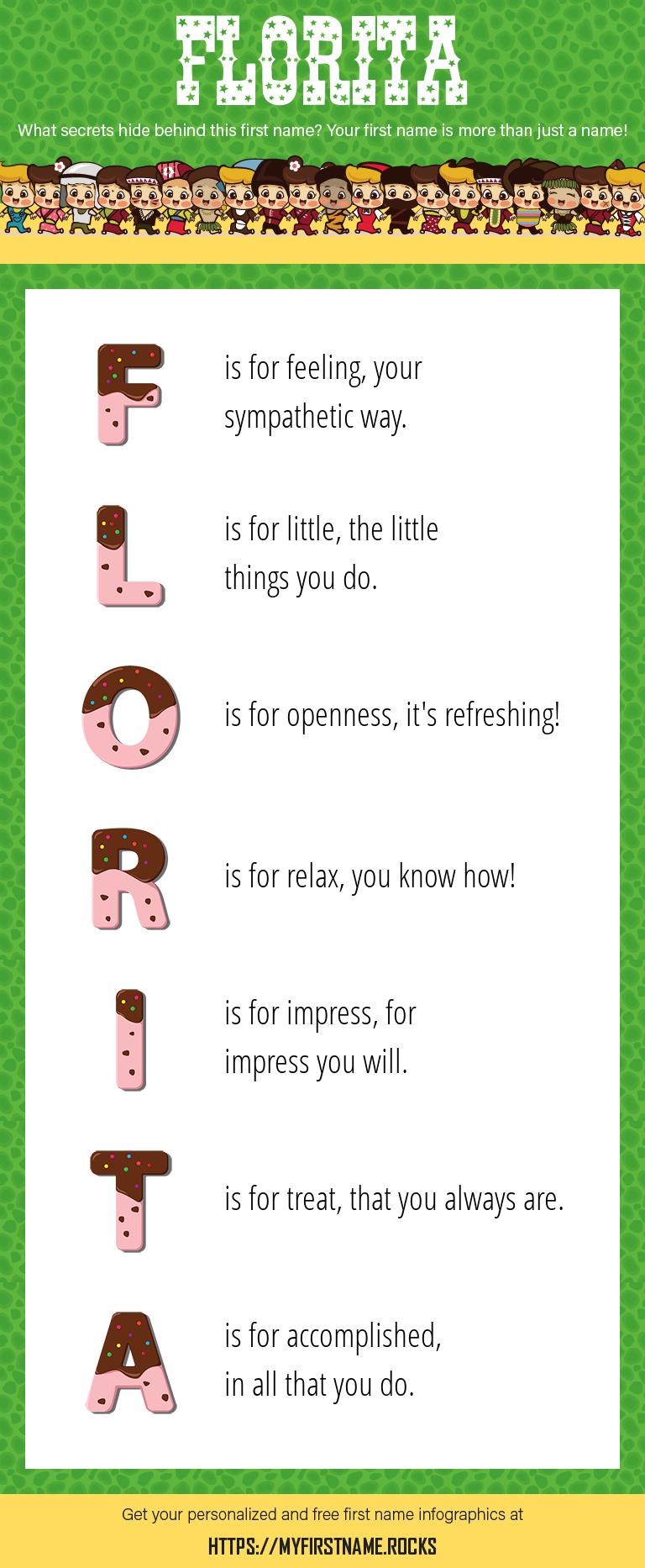 Florita Infographics