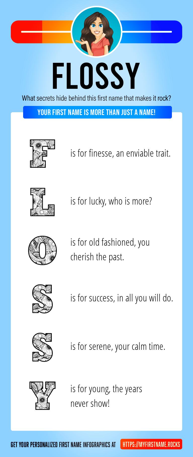 Flossy Infographics