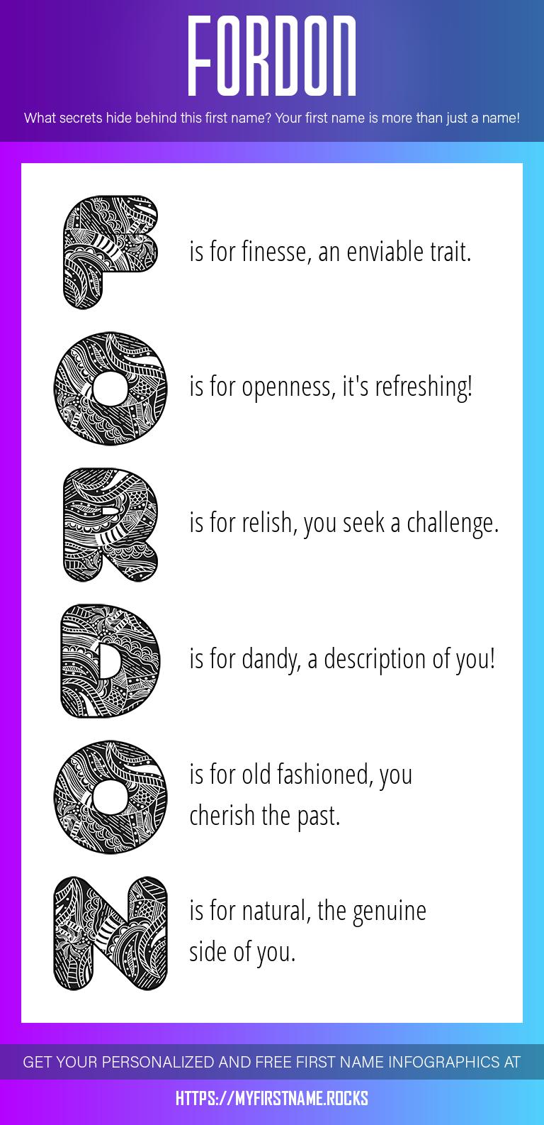 Fordon Infographics