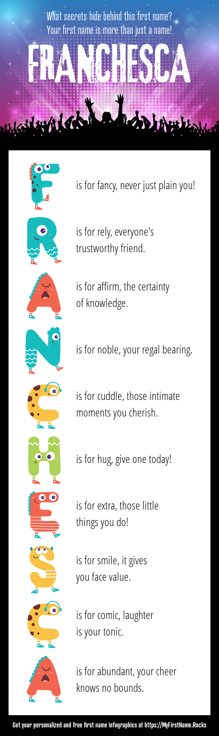 Franchesca Infographics