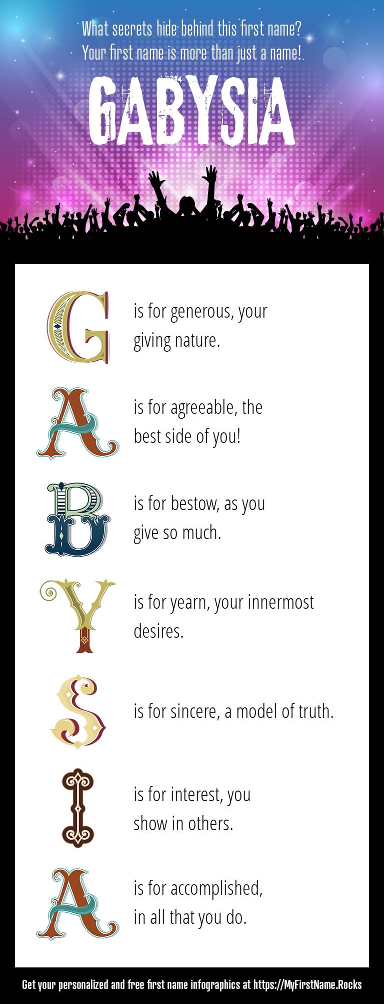 Gabysia Infographics