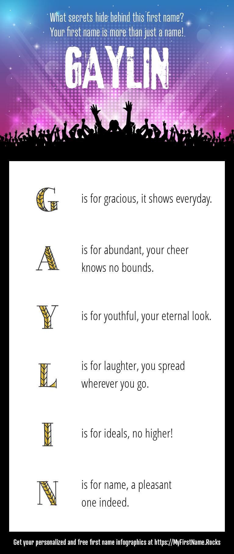 Gaylin Infographics