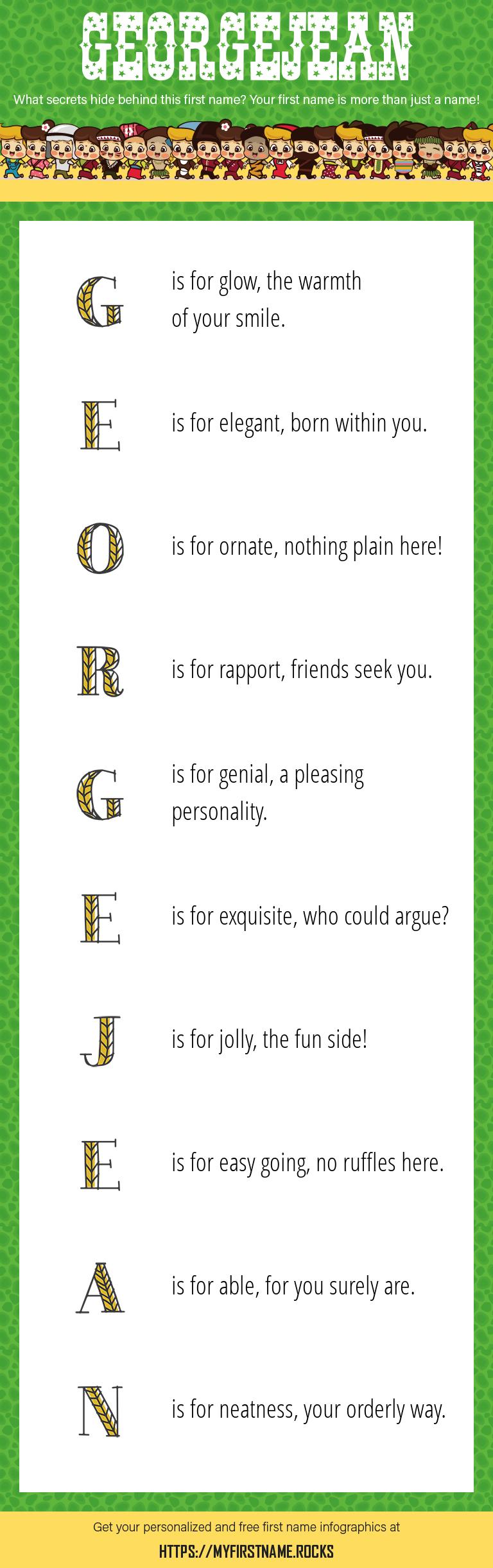 Georgejean Infographics