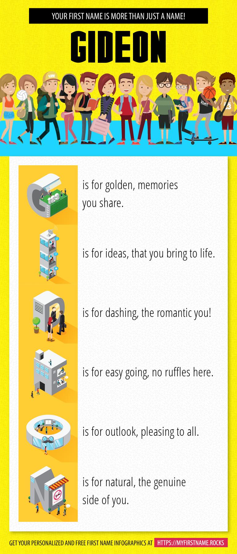 Gideon Infographics