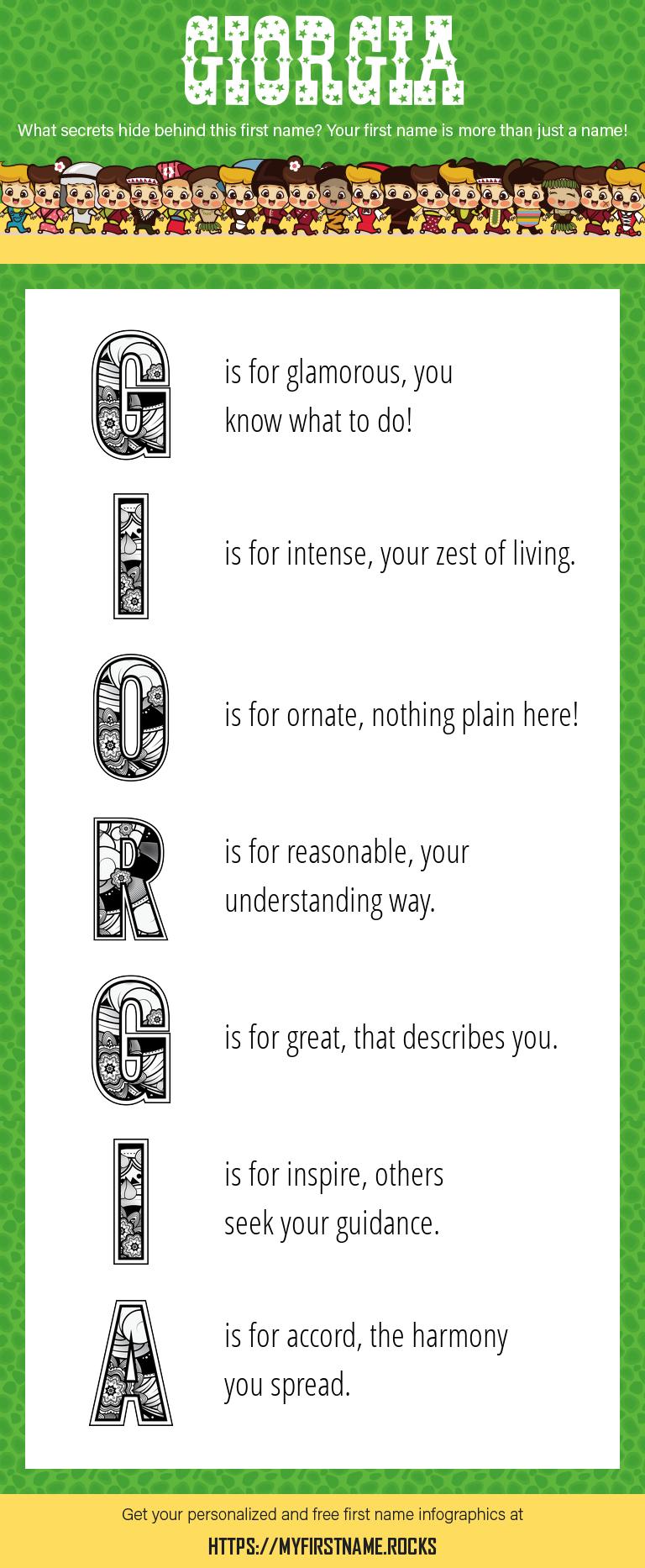 Giorgia Infographics