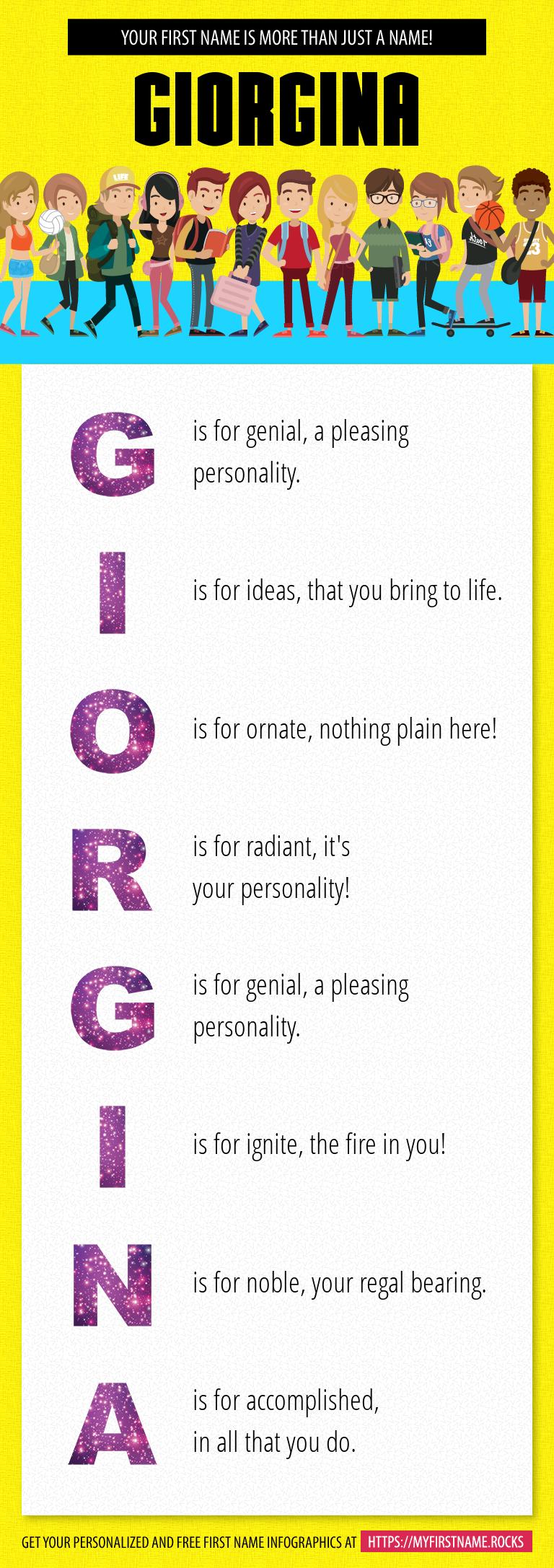 Giorgina Infographics