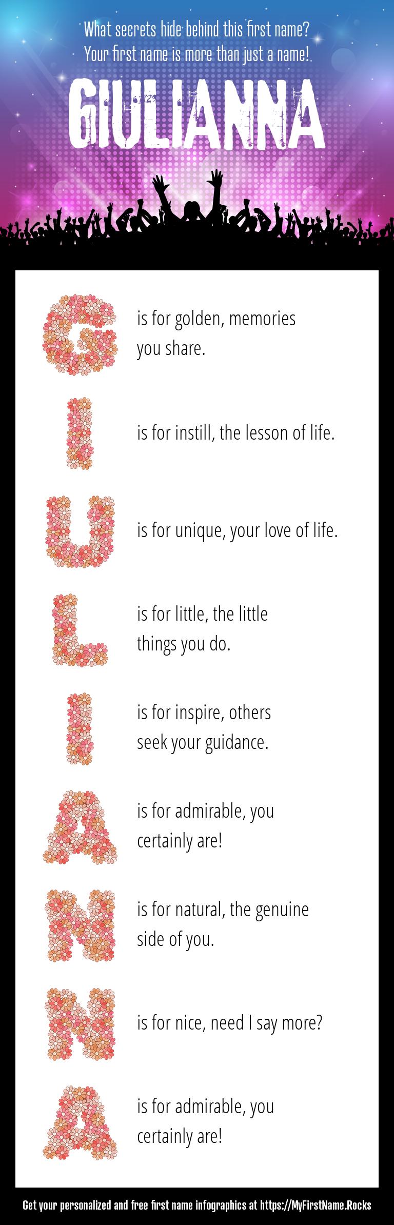 Giulianna Infographics