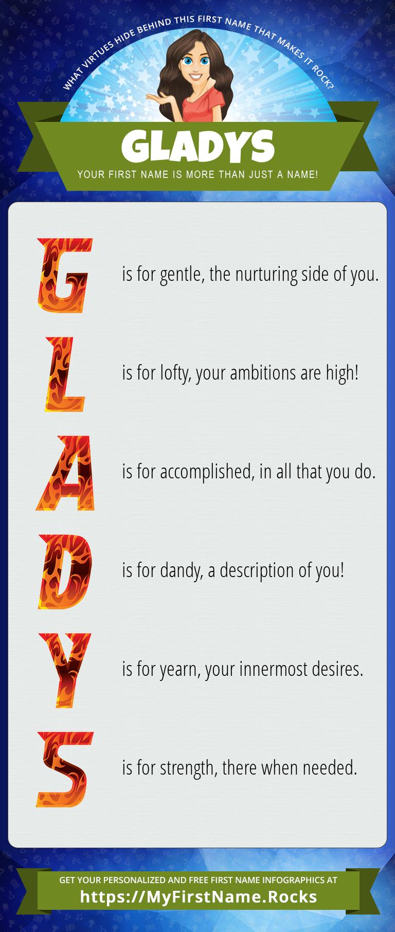 Gladys Infographics