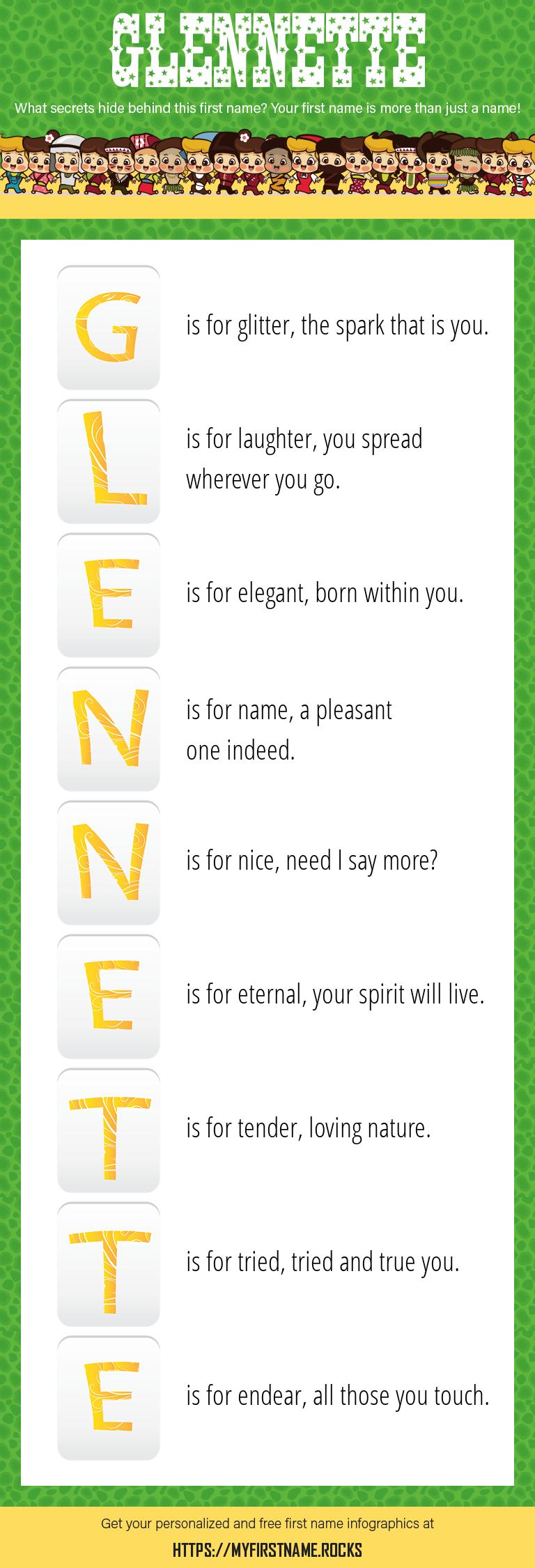 Glennette Infographics