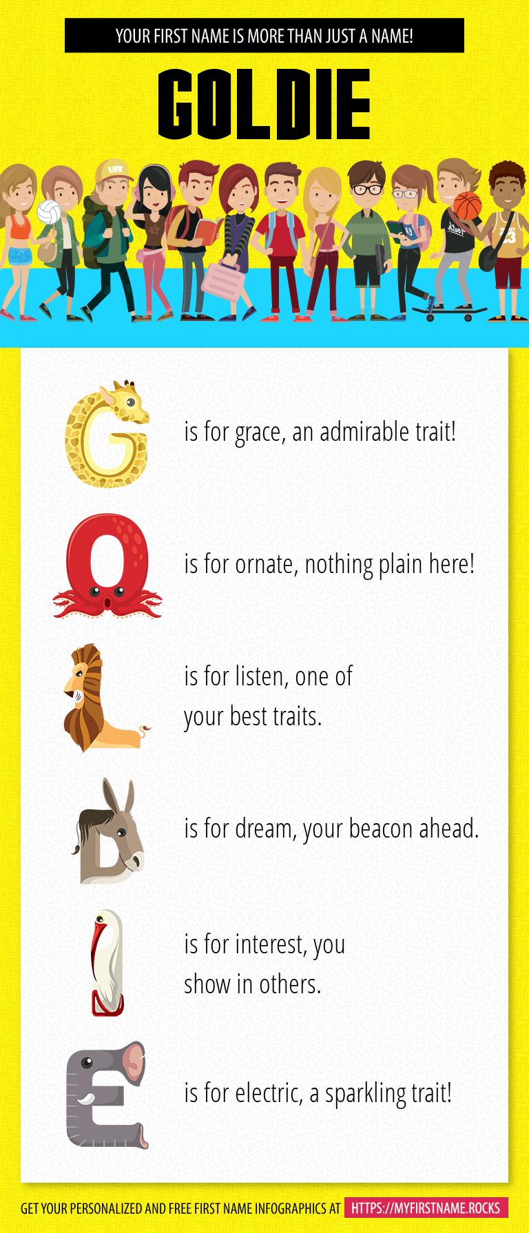 Goldie Infographics