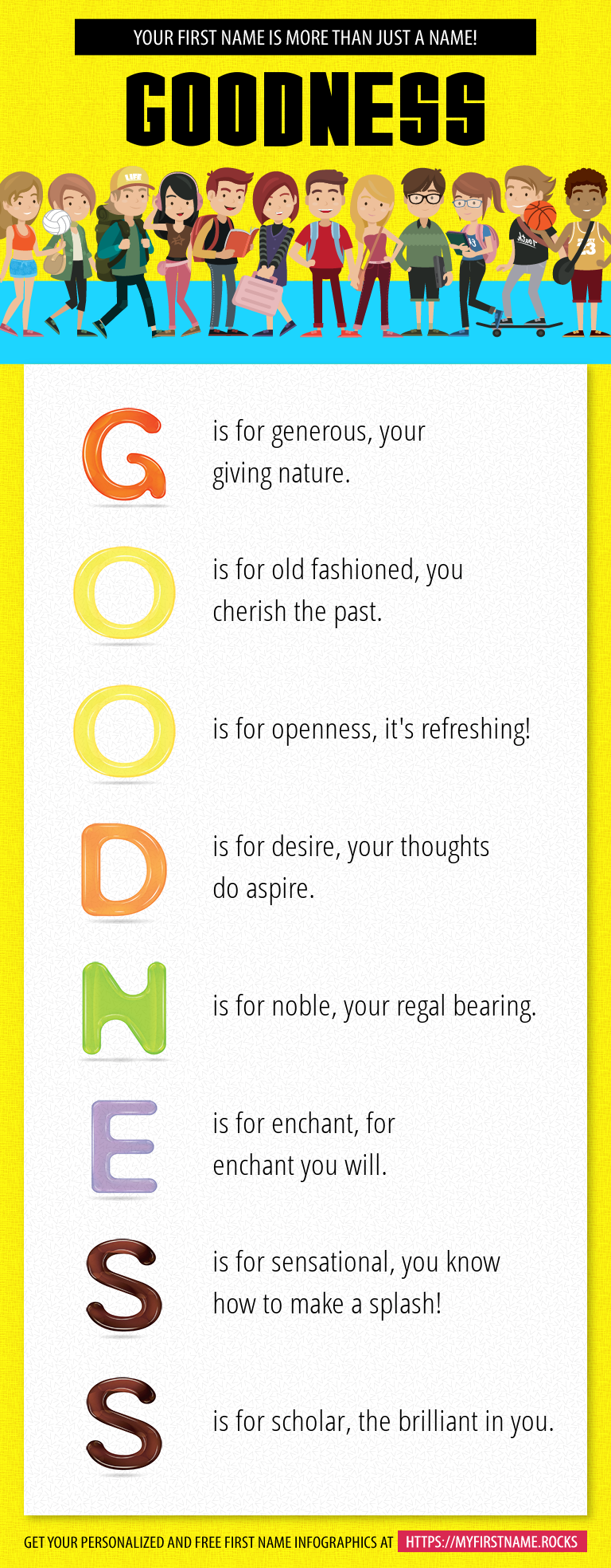 Goodness Infographics