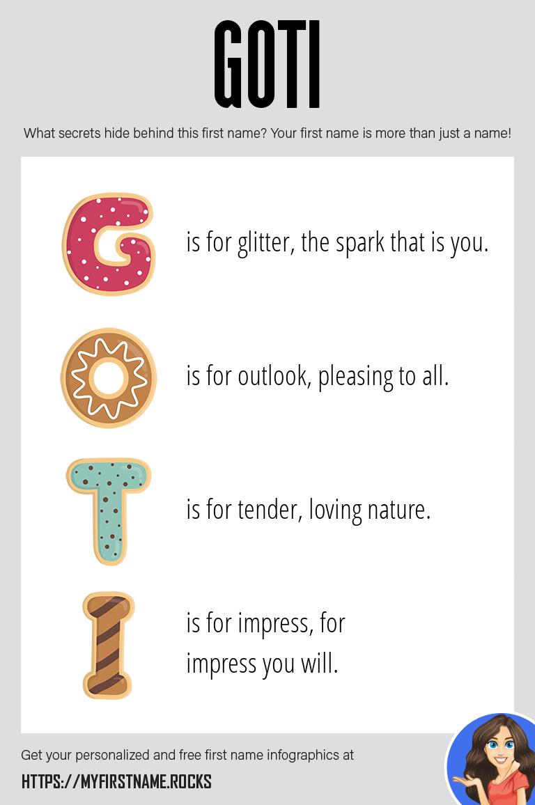 Goti Infographics