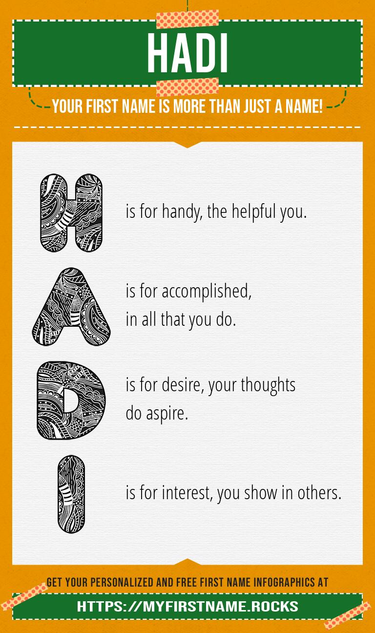 Hadi Infographics