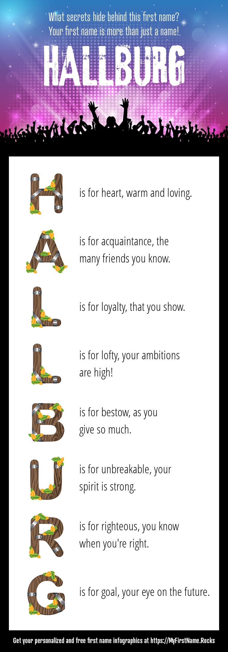 Hallburg Infographics