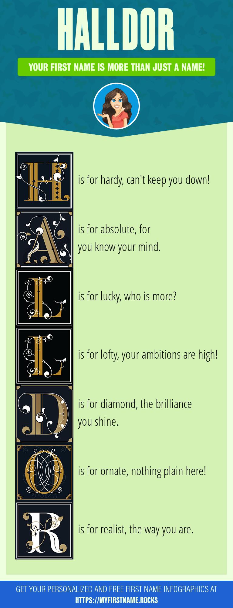 Halldor Infographics