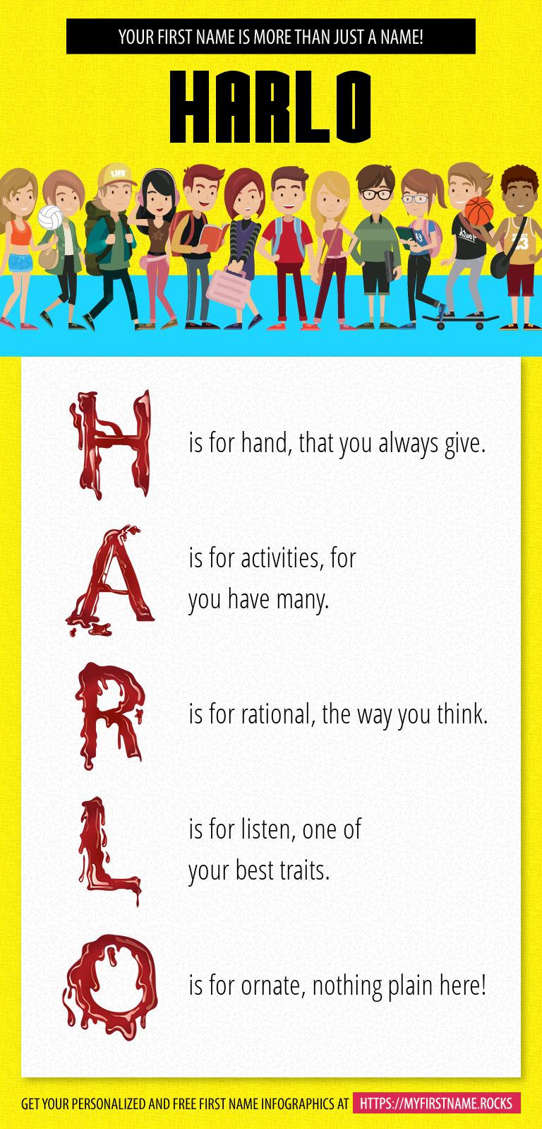 Harlo Infographics