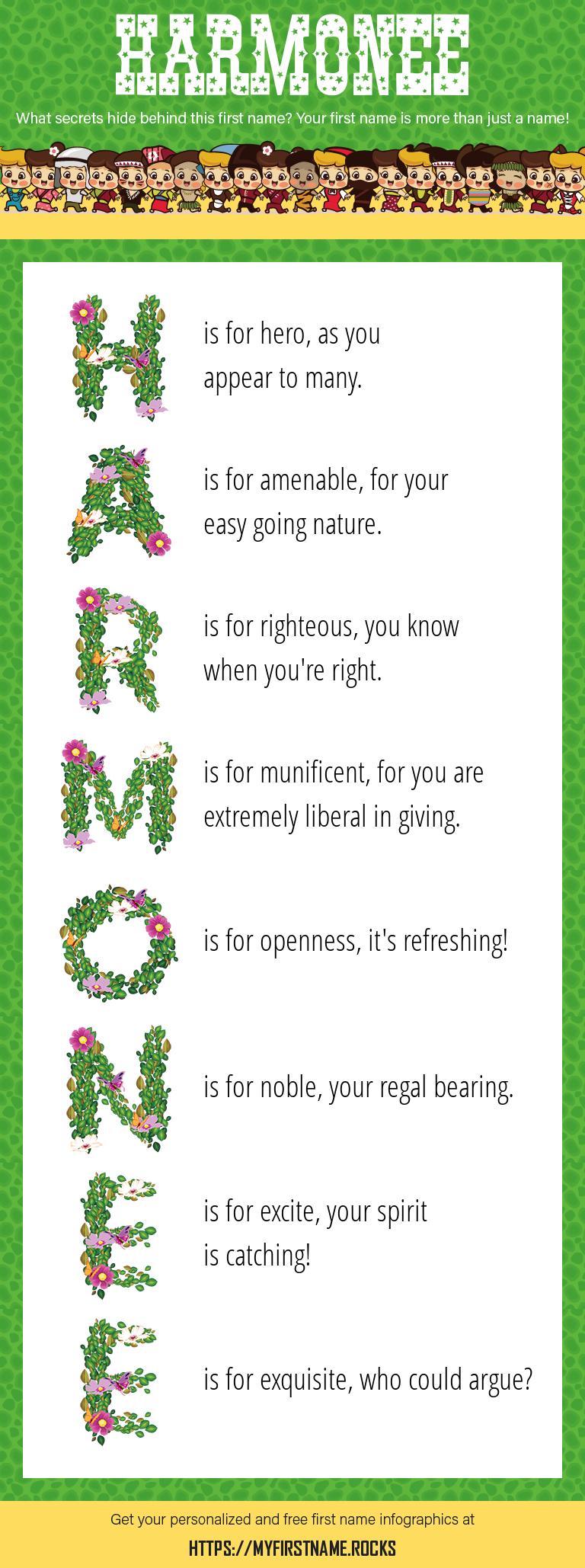 Harmonee Infographics