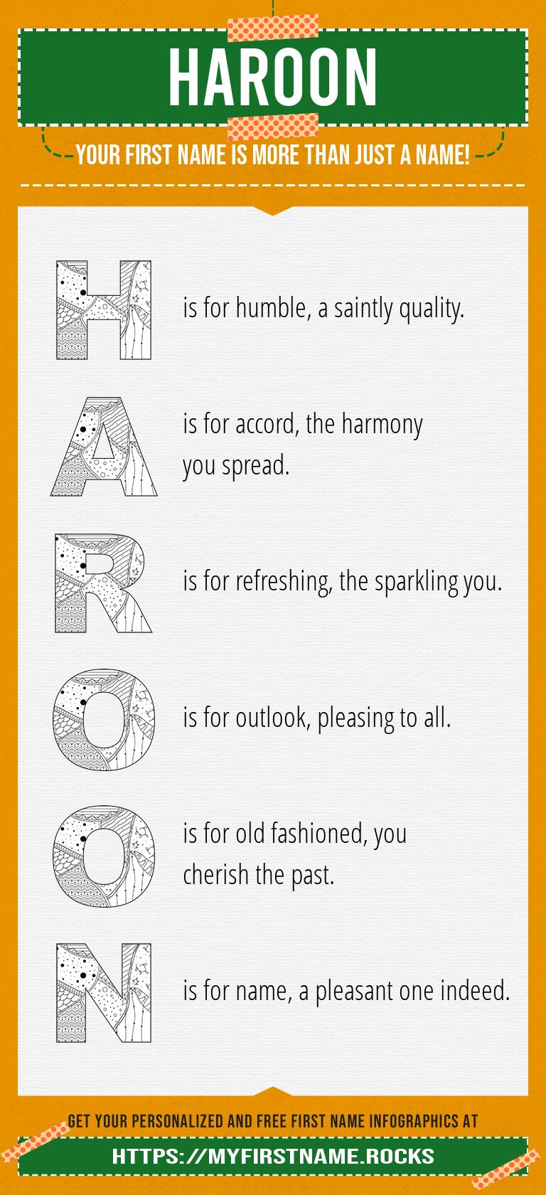 Haroon Infographics