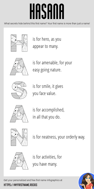 Hasana Infographics