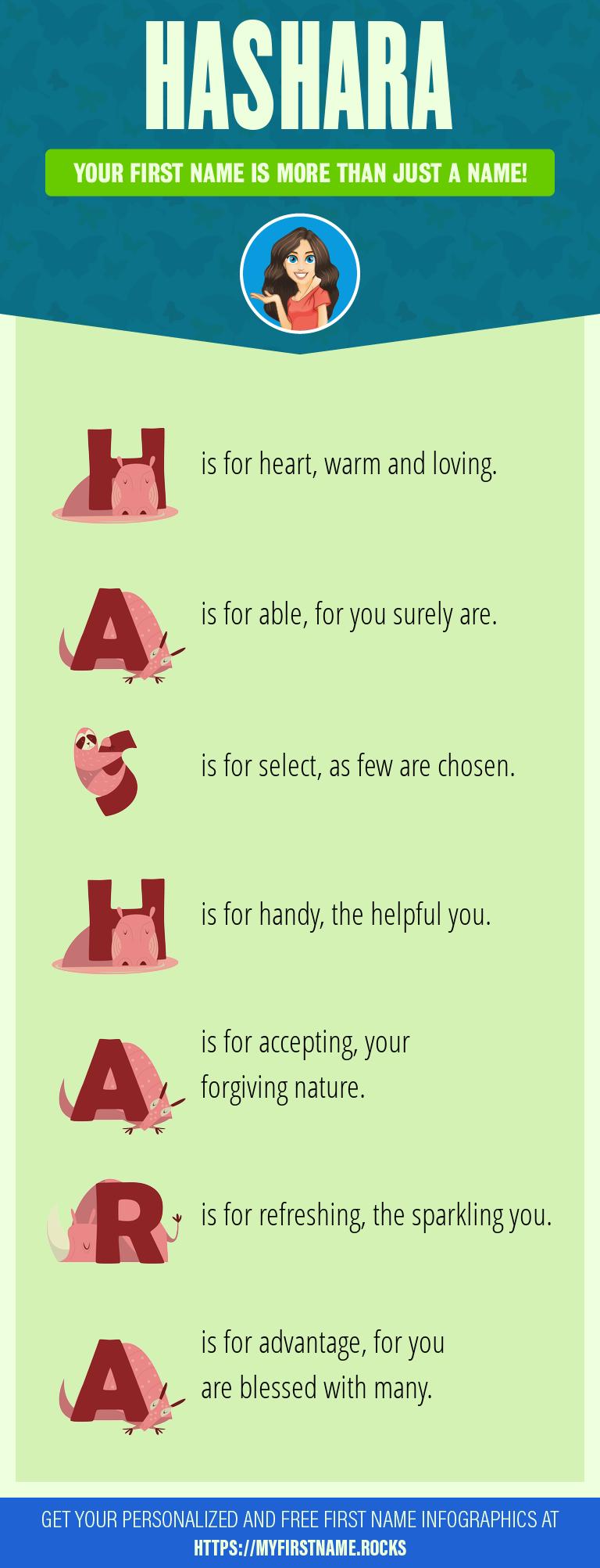 Hashara Infographics