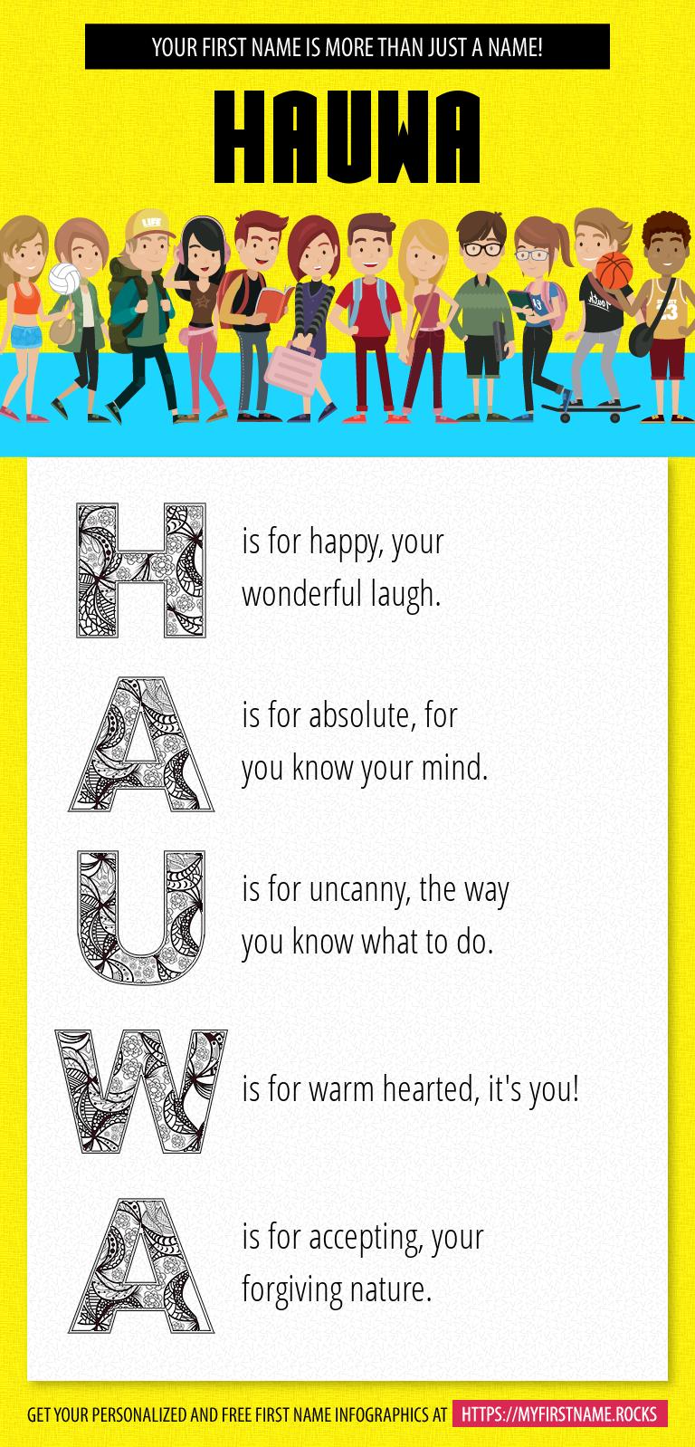 Hauwa Infographics