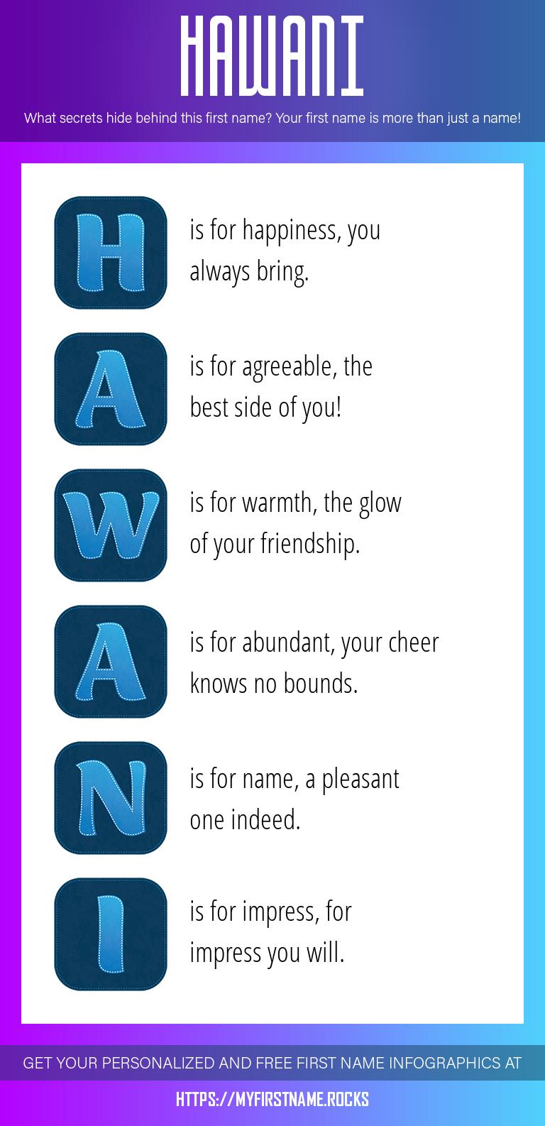 Hawani Infographics
