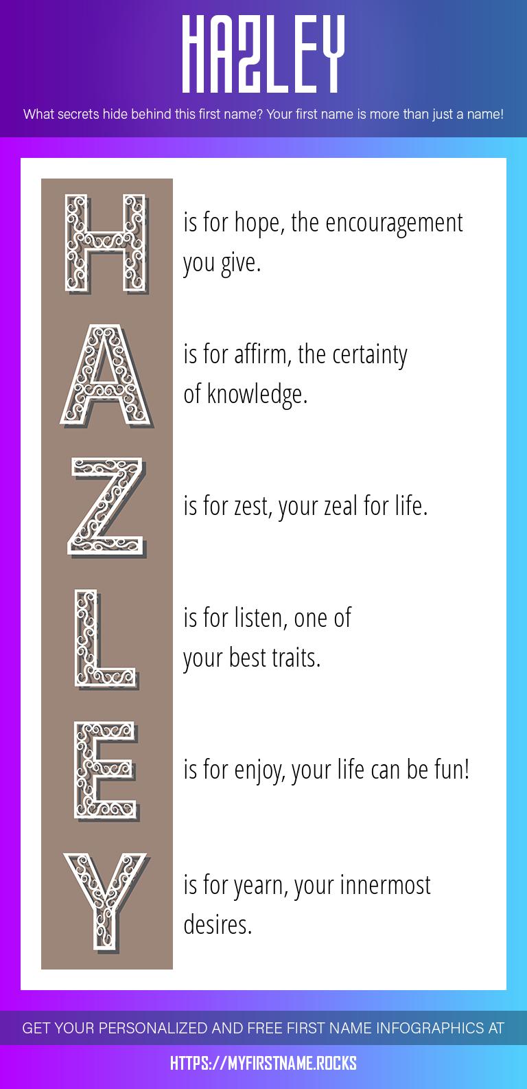 Hazley Infographics