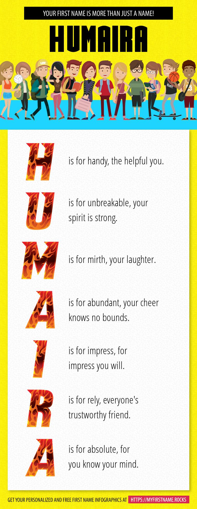 Humaira Infographics