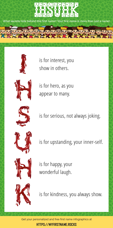 Ihsuhk Infographics