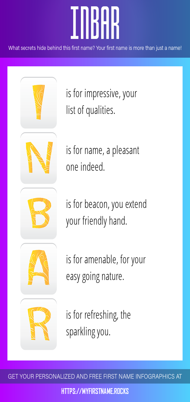 Inbar Infographics
