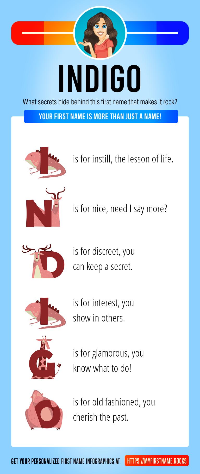 Indigo Infographics