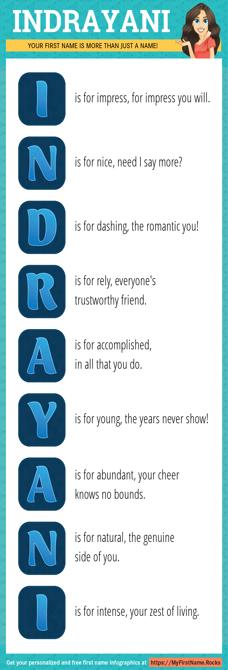 Indrayani Infographics