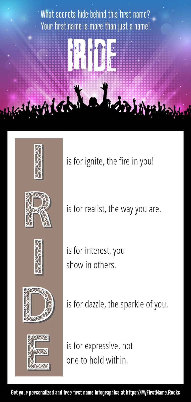 Iride Infographics