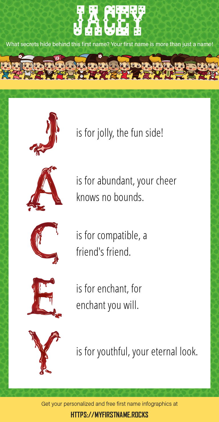Jacey Infographics
