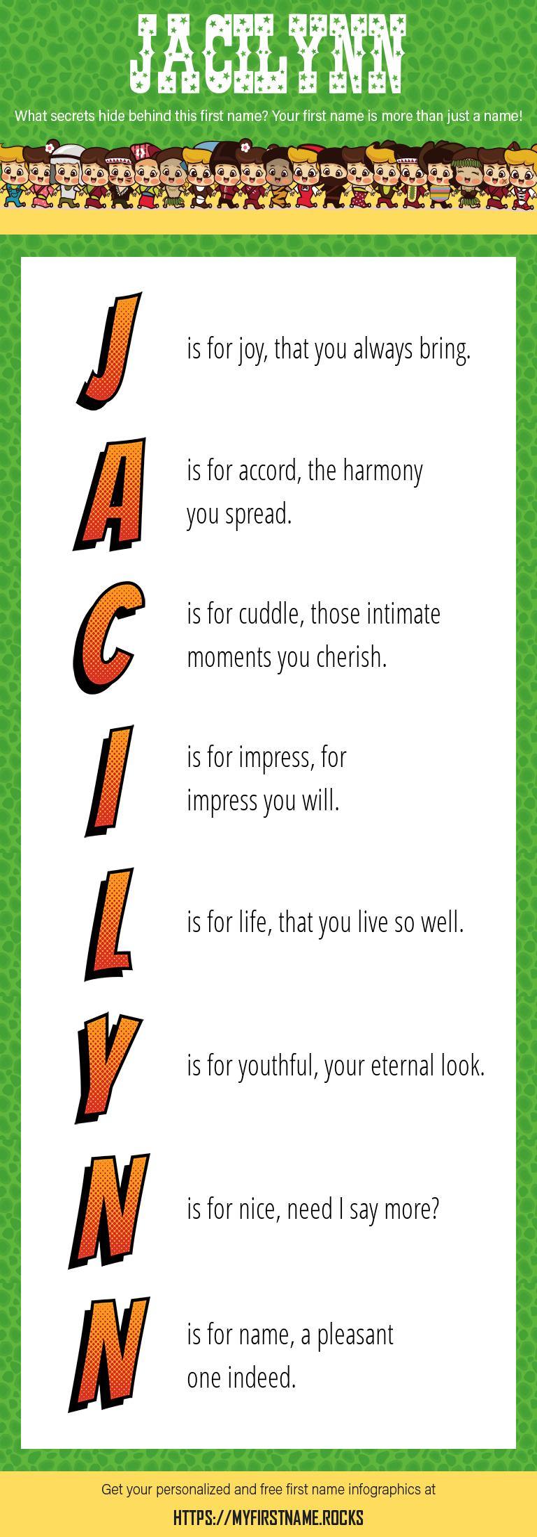 Jacilynn Infographics