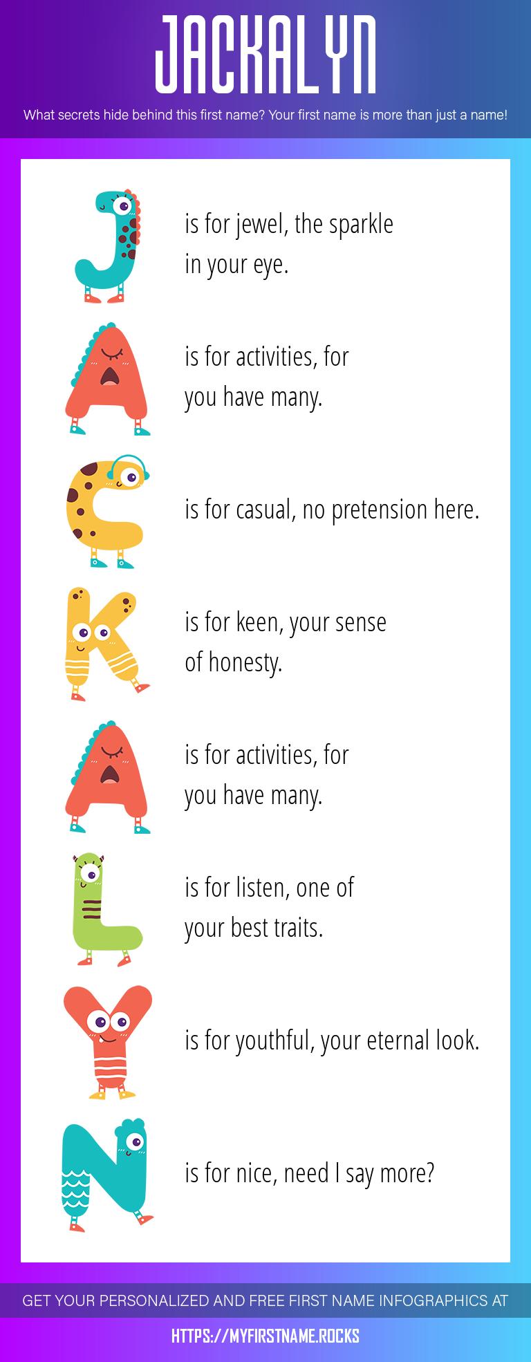 Jackalyn Infographics