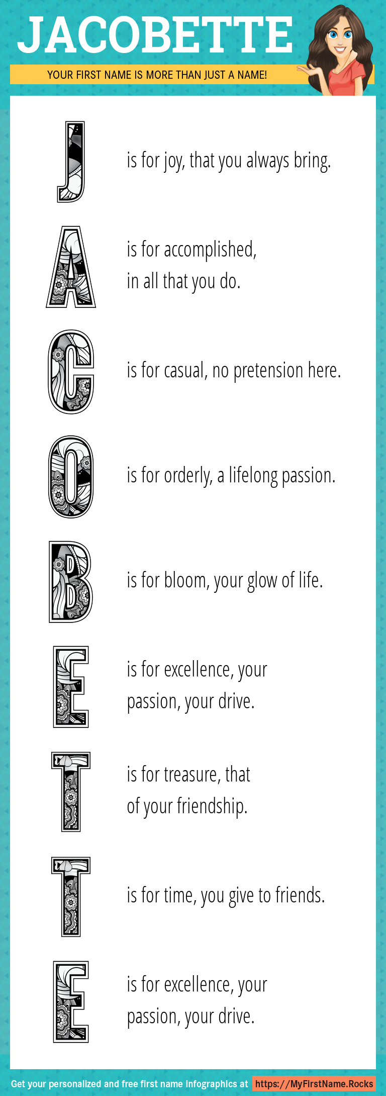Jacobette Infographics