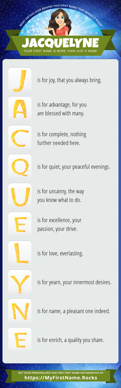 Jacquelyne Infographics