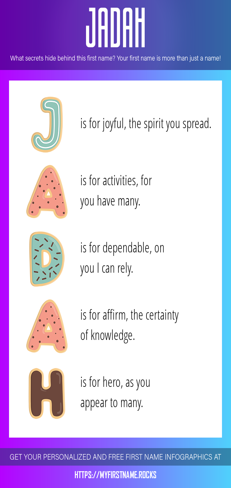 Jadah Infographics